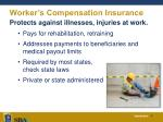 worker s compensation insurance