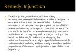 remedy injunction