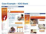 case example icici bank