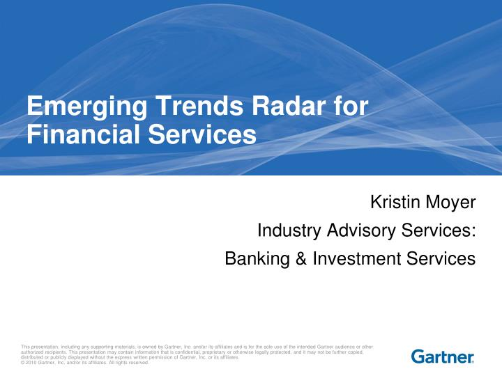 emerging trends radar for financial services n.