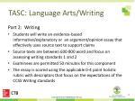 tasc language arts writing4