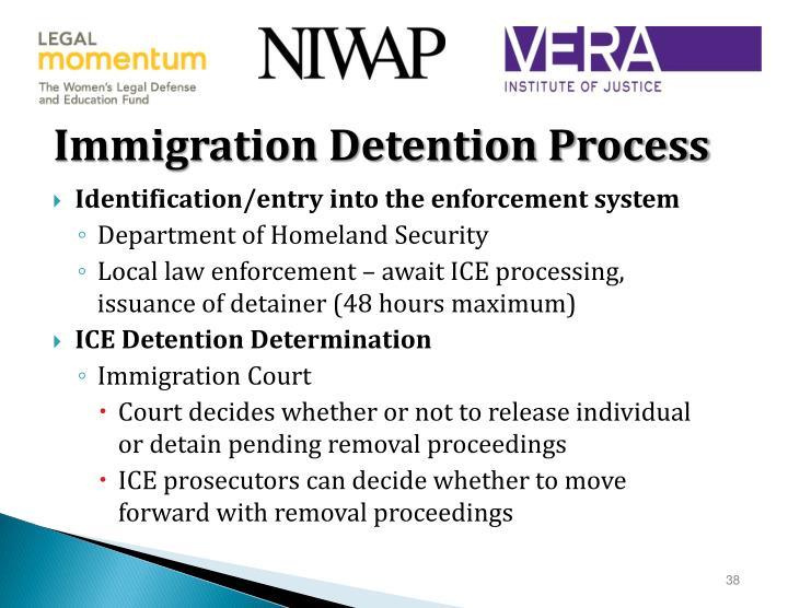 Immigration Detention Process