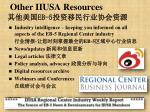other iiusa resources eb 5