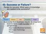 is success or failure