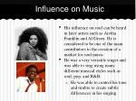 influence on music