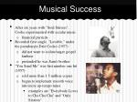 musical success
