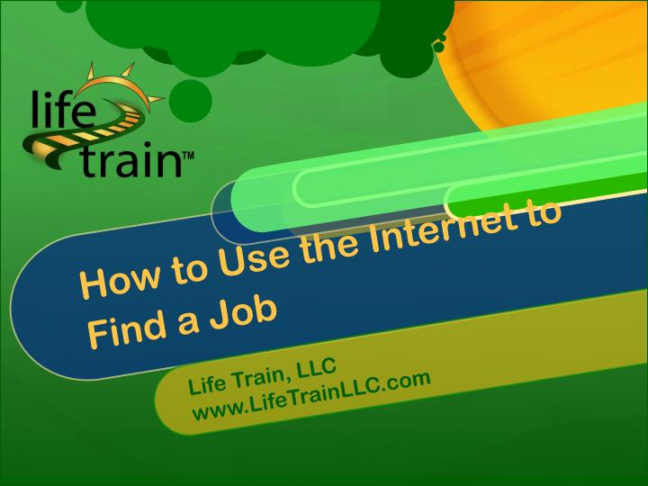 how to use the internet to find a job n.