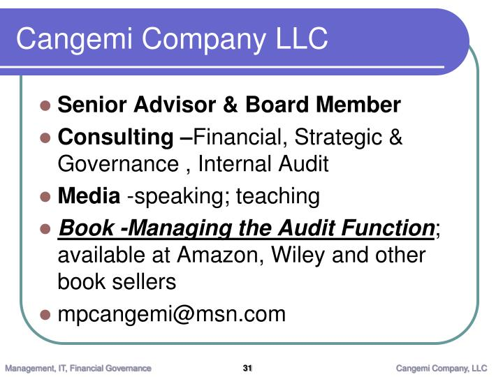 Cangemi Company LLC
