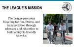 the league s mission