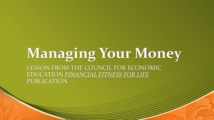 managing your money n.