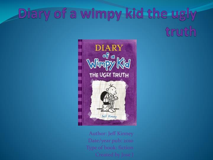 diary of a wimpy kid the ugly truth n.