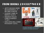 from books 2 hollywood