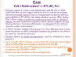 case cove management v aflac inc