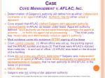 case cove management v aflac inc1