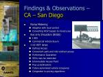 findings observations ca san diego1