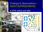 findings observations njdot njtpke panynj2