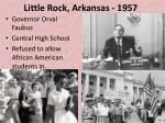 little rock arkansas 1957