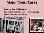 major court cases1