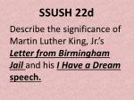 ssush 22d