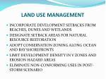 land use management
