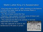 martin luther king jr s assassination