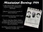 mississippi burning 1964