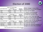 election of 20008