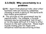 2 3 5b 2 why uncertainty is a problem1