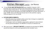 kitchen manager cont d jan reeves