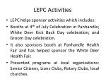 lepc activities1