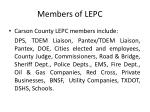 members of lepc