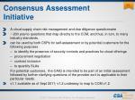consensus assessment initiative