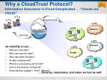 why a cloudtrust protocol information assurance is cloud complicated clouds are cloudy