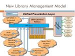 new library management model