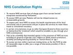 nhs constitution rights