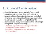 3 structural transformation