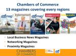 chambers of commerce 13 magazines covering every regions1