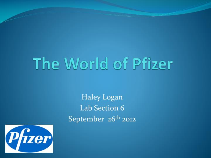 the world of pfizer n.