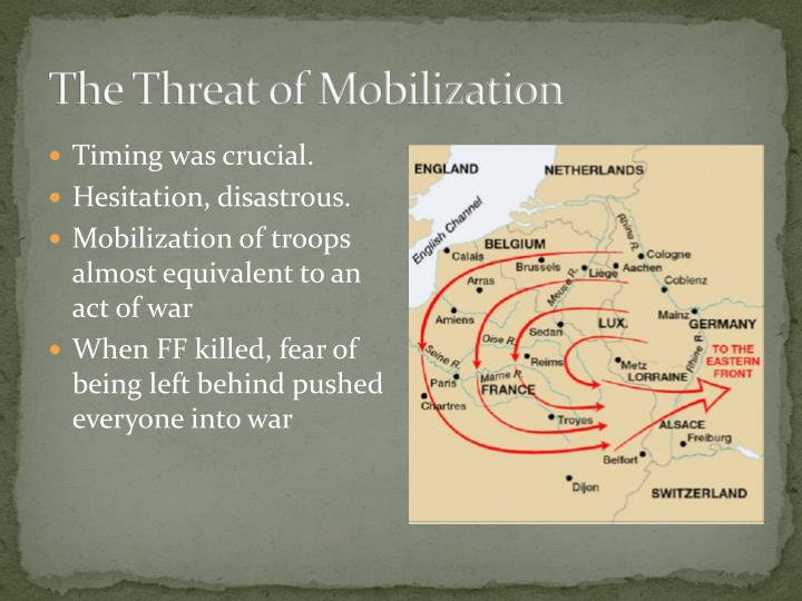 The Threat of Mobilization