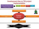 development idea on trs project implementation