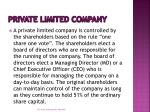 private limited company1