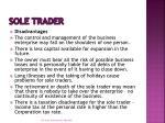 sole trader1