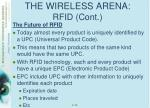 the wireless arena rfid cont3