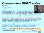 comments from engr transfers2
