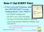 rule 11 get every point