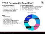 pyco personality case study1