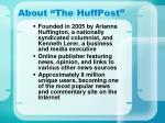 about the huffpost