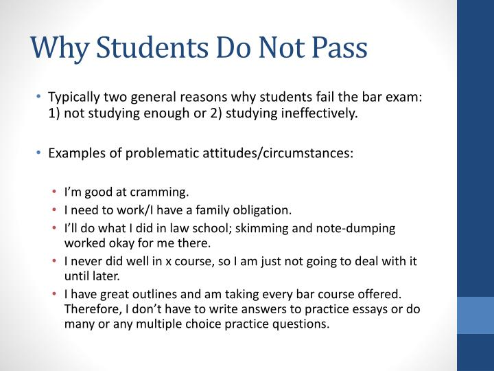 practice bar exam essays Essay and mpt questions and selected answers  pursuant to part b, section 13, there are no regrades or appeals after the release of grades.