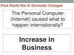 post world war ii domestic changes10