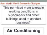 post world war ii domestic changes13
